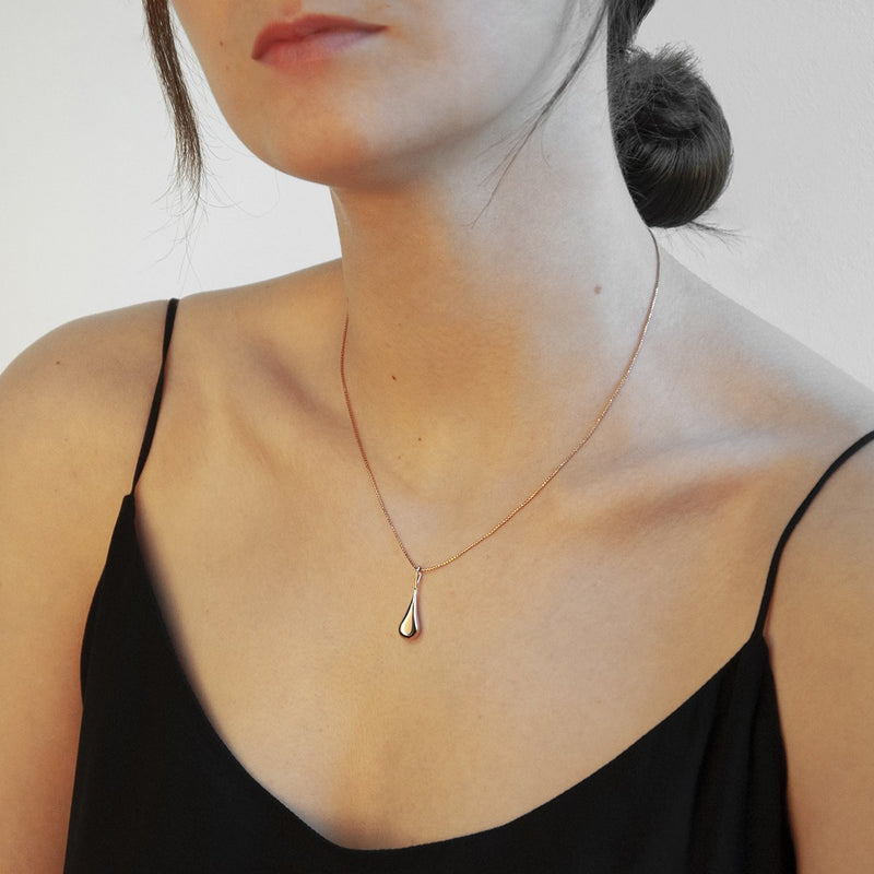 Najo - My Silent Tears Necklace Rose