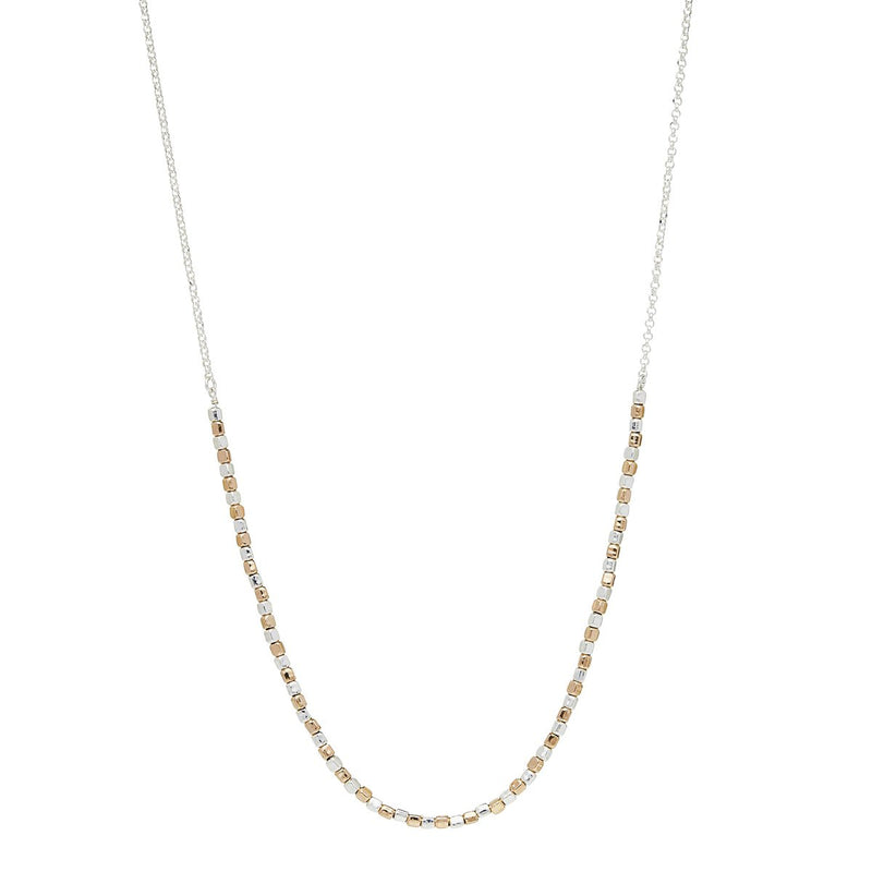 Najo - Golden Pretty Pebble Necklace