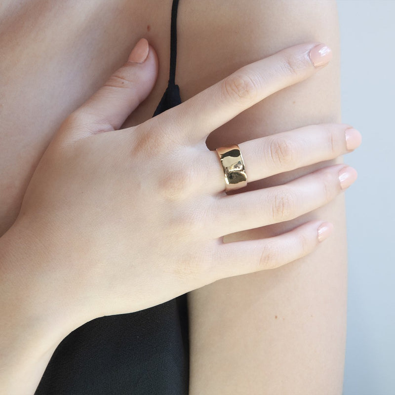 Najo Barber Gold Ring