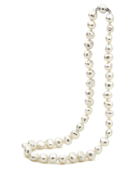 White Freshwater Pearl Necklet