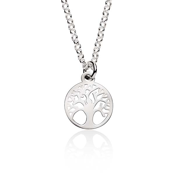 Sterling Silver Tree Of Life Necklet