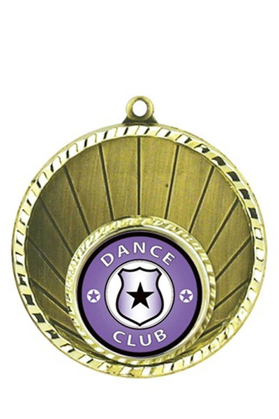 Sun Rays Dance Medal - Avail in Gold, Silver & Bronze