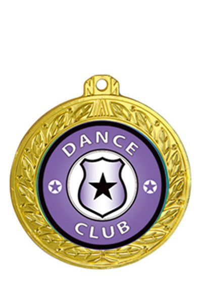 Supreme Dance Medal-Generic - Avail in Gold, Silver & Bronze