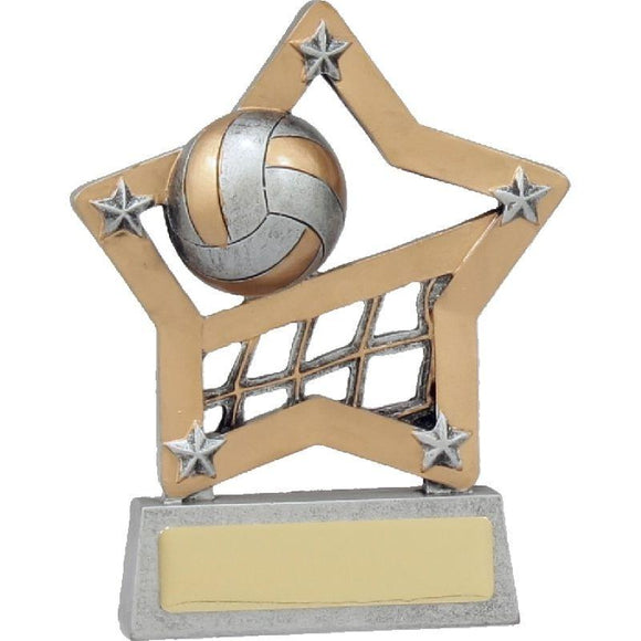 MINI STAR Volleyball Trophies 130mm