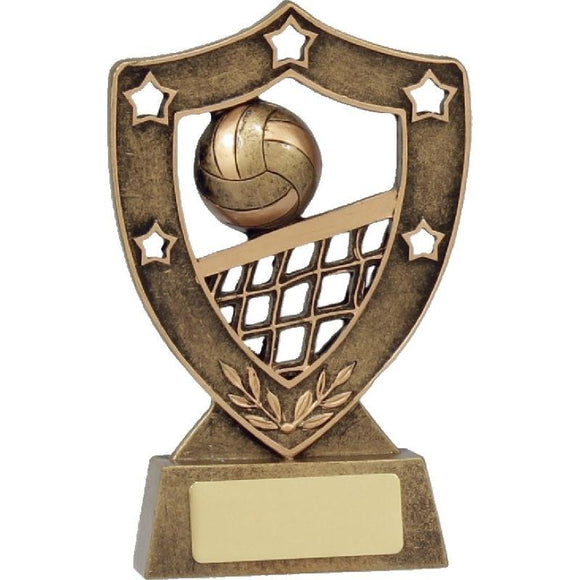 SHIELD SERIES Volleyball Trophies - Avail in 3 Sizes