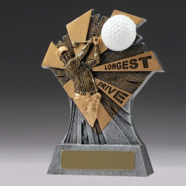 LONGEST DRIVE Golf Trophy 155mm
