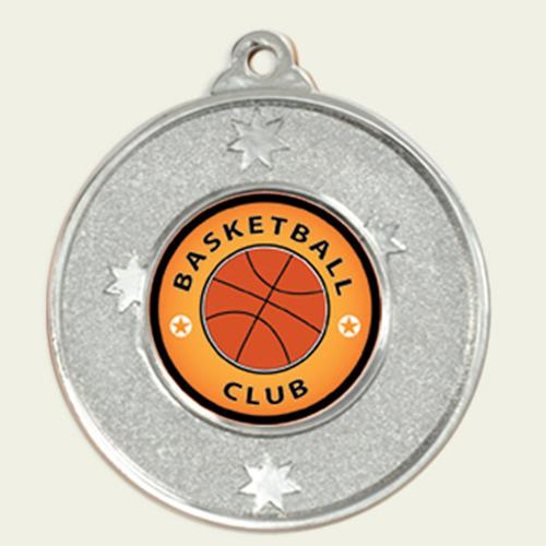 SOUTHERN CROSS SERIES Basketball Medals - avail in 3 colours