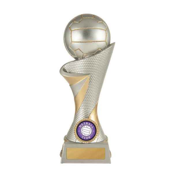 STORM TOWER SERIES Netball Trophies - Avail in 5 Sizes