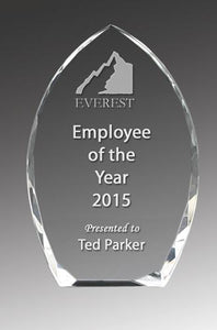 Crystal Clear Arch Corporate Award - Avail in 3 sizes
