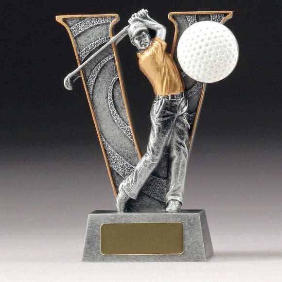 V SERIES Golf Trophy 150mm