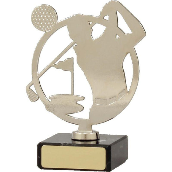 MIDNIGHT METAL Golf Trophies - 3 Sizes