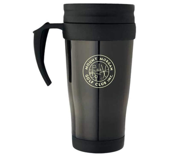 Promo Travel Mugs 350ml PROMOTIONAL DRINK WARES Engrave Works