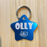 Engraved Designer Pet ID Tags