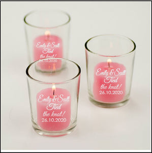 Engraved Glass Votive Candle Holders Personalised Glasses Engrave Works