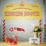 Kissing Booth - Personalised Photo Back Drop