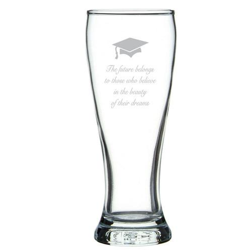 Personalised Glasses - Corporate - Beer Brasserie Glass Engraved