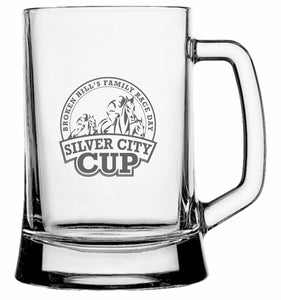 Personalised Glasses - Corporate - Beer Mugs Engraved