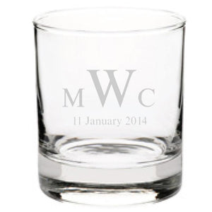 Personalised Glasses - Corporate - Tumbler Engraved