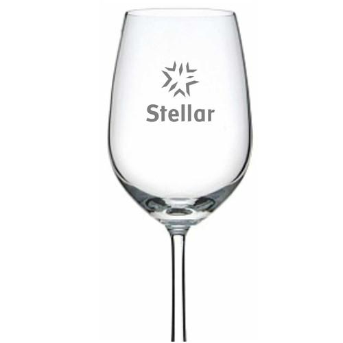 Personalised Glasses - Corporate - Wine Glass Engraved