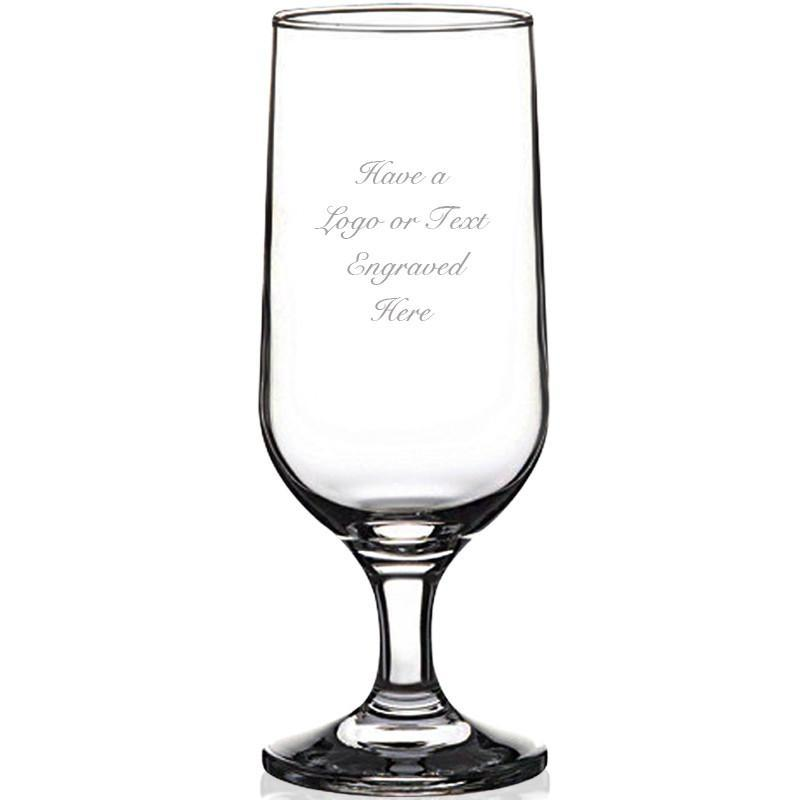 Engraved Beer Goblet Glasses 345ml