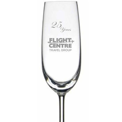 Personalised Glasses - Engraved Champagne Glasses