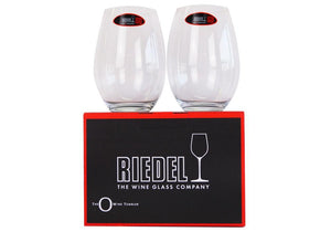 Personalised Glasses - Riedel Crystal Stemless Wine Glasses With Engraving