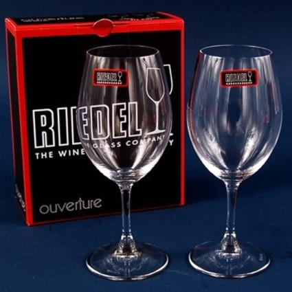 Personalised Glasses - Riedel Ouverture Crystal Wine Glasses With Engraving