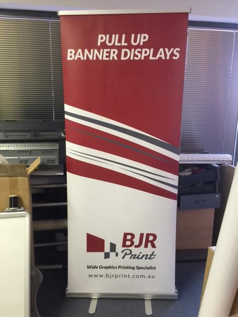 Print - Printed Pull Up Banner