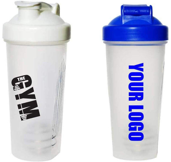 Promotional Sports Drink Shakers - printed Personalised Gifts Engrave Works