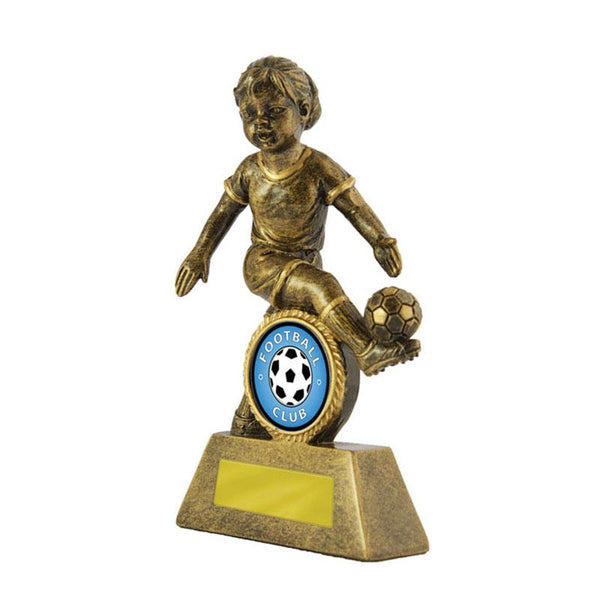 Trophies And Awards - LITTLE CHAMPS Football - Soccer Trophies 125mm [601G/9F]