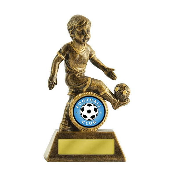 Trophies And Awards - LITTLE CHAMPS Football - Soccer Trophies 125mm [601G/9M]