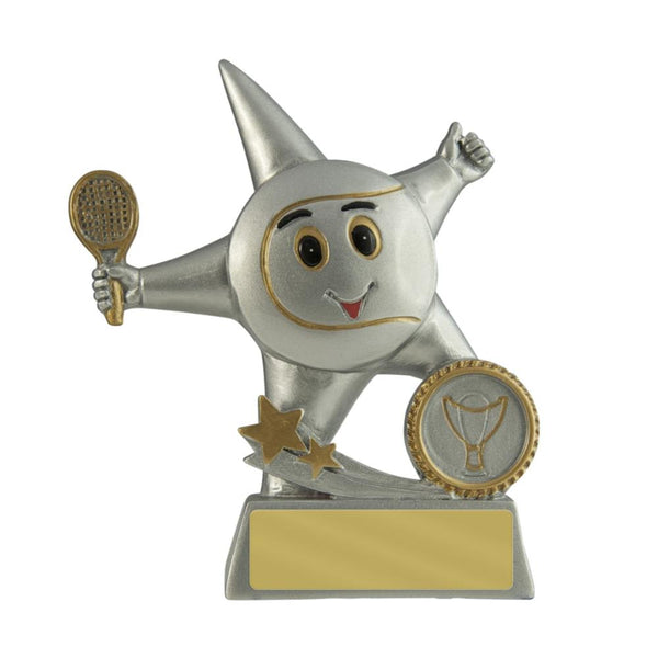 Trophies And Awards - LITTLE STAR Tennis Trophies - 130mm