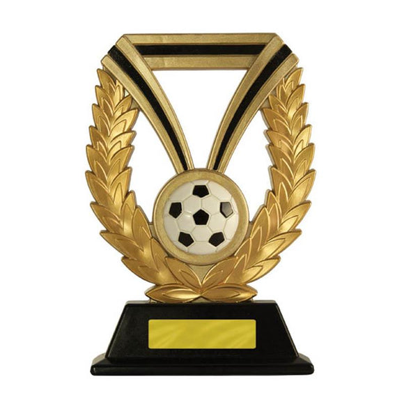 Trophies And Awards - RES-ILIENT RIBBON WREATH STAND Football - Soccer Trophies 175mm [593JB/9]