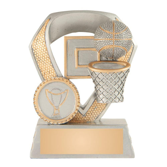 Trophies And Awards - SHIELD SERIES Basketball Trophies - Avail In 3 Sizes
