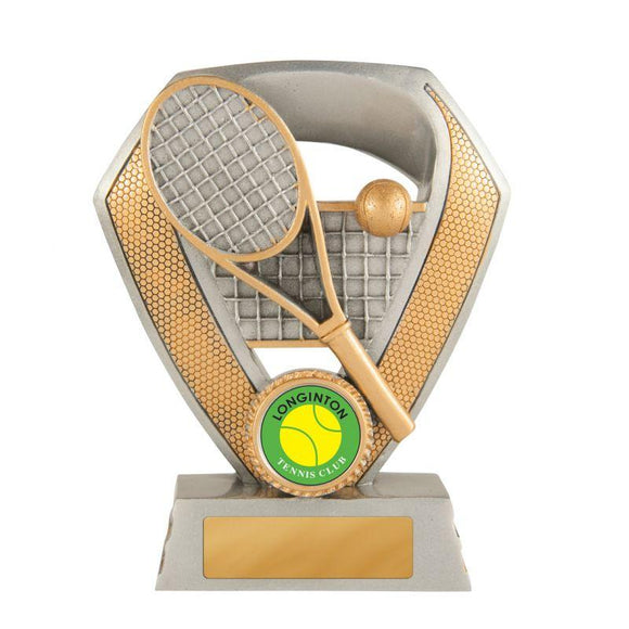 Trophies And Awards - SHIELD SERIES Tennis Trophies - Avail In 3 Sizes