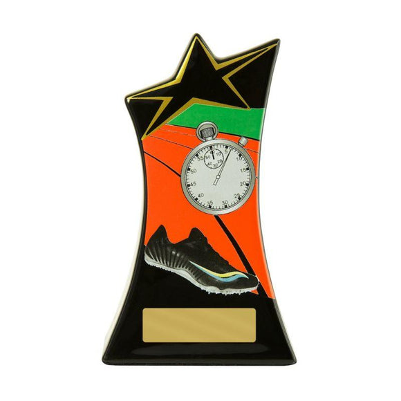 Trophies And Awards - SHOOTING STAR SERIES Athletics Trophies - 2 Sizes