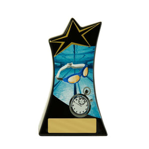 Trophies And Awards - SHOOTING STAR Swimming Trophies - Avail In 2 Sizes