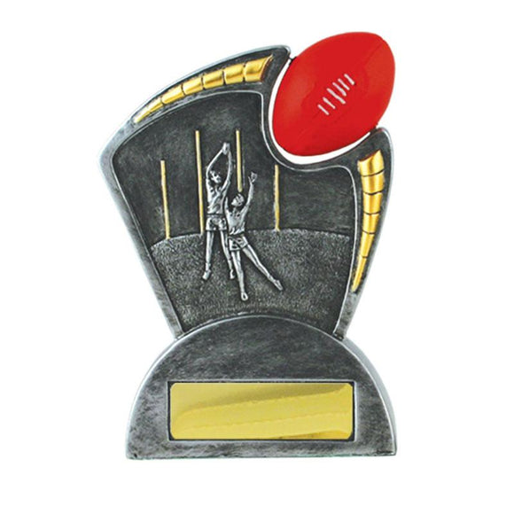 Trophies And Awards - SPINNER Aussie Rules Trophies 145mm [884/3]