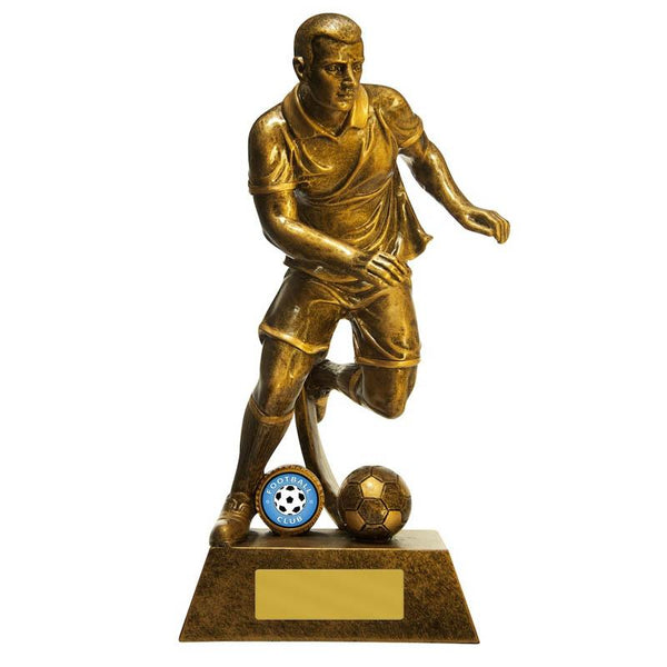 Trophies And Awards - STRIKER (MALE) Football - Soccer Trophies 275mm [762G/9MF]