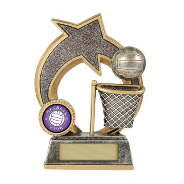 Trophies And Awards - SWOOSH Netball Trophies - Avail In 3 Sizes