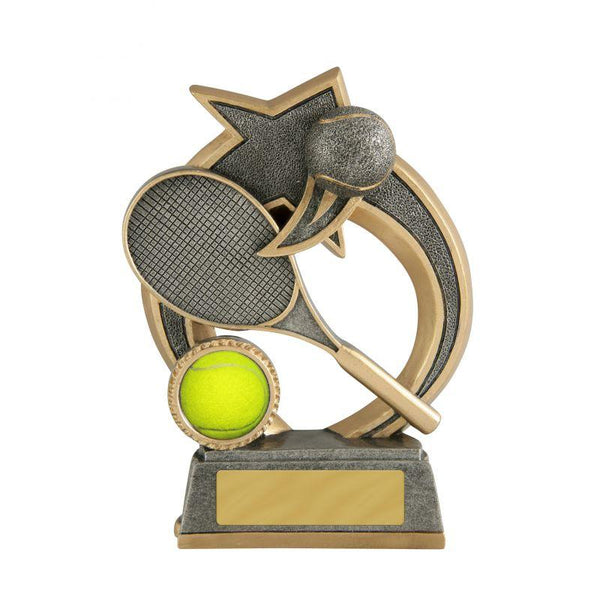 Trophies And Awards - SWOOSH SERIES Tennis Trophies - Avail In 3 Sizes