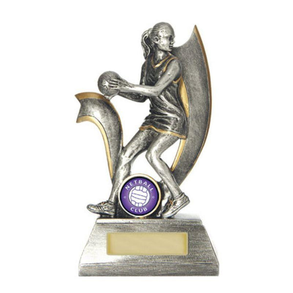Trophies And Awards - VELOCITY SERIES Netball Trophies - Avail In 5 Sizes