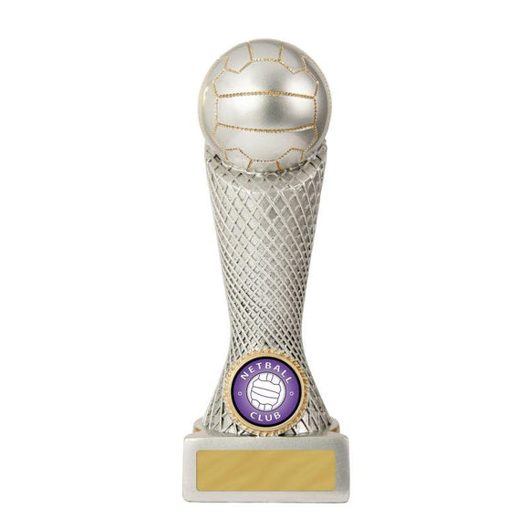 Trophies And Awards - ZEE TOWER SERIES Netball Trophies - Avail In 3 Sizes