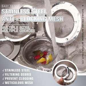 Stainless Steel Anti - Blocking Mesh (Buy 3+1 Free)