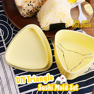 DIY Triangle Sushi Mold Set