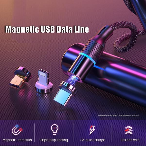 Magnetic USB Data Line