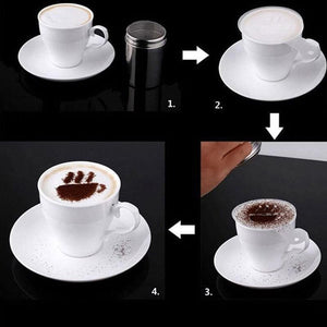 Fancy Coffee Printing Model(16PCS)