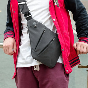 Stealth Anti-Theft Crossbody Sling Bag