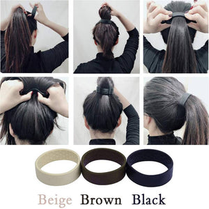 Silicone Foldable Fixed Hair Tie