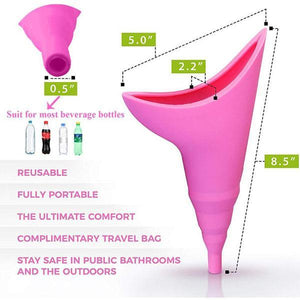 Reusable Squat-free Female Urinal